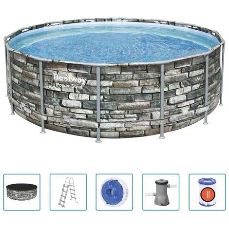 Bestway Power Steel Swimming Pool 427x122 cm