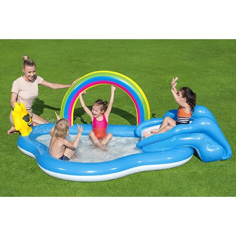 Bestway Rainbow Shine Paddling Pool and Play Centre