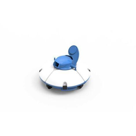 BESTWAY Robot aspirateur Frisbee - Pour piscine a fond plat - 5 x 3 m
