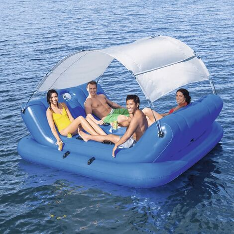 Bestway Rock-N-Shade Floating Island 272x196 cm 43134