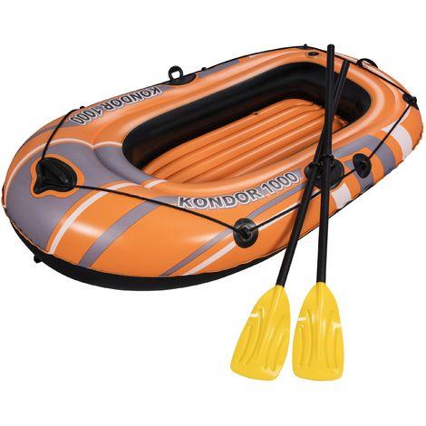 Bestway Schlauchboot-Set Kondor 1000 für 1 Person 155 x 93 x 30 cm
