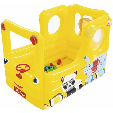 Bestway School Bus Playcenter Fisher Price Lil' Learner