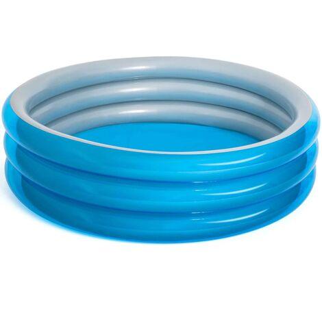Bestway Schwimmbecken Big Metallic Rund 201×53 cm Blau