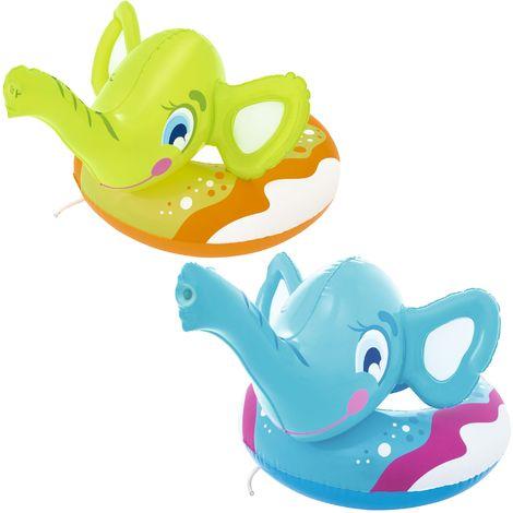 """Bestway Schwimmring mit Wassersprüher """"Elefant"""" 3-6 Jahre 69 x 61 cm"""