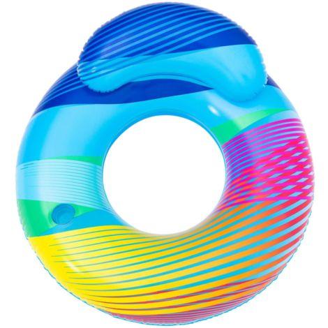 """Bestway Schwimmring """"Swim Bright"""" mit LED-Licht, hellblau, bunt, 118 x 117 cm"""