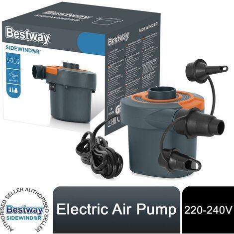 Bestway Sidewinder AC Battery Powered 220-240V Air Pump