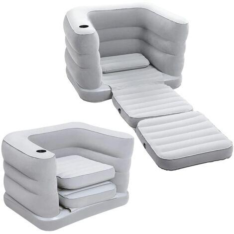 Bestway Sillón cama inflable para 1 persona Multi Max II 67277