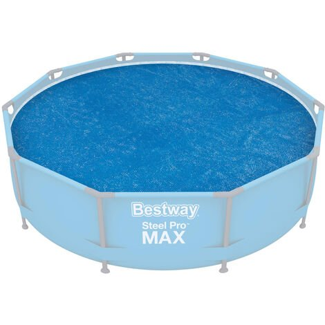 """main image of """"Bestway 10ft Steel Pro Frame / Fast Set Pool Solar Cover"""""""