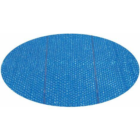 Bestway Solar Pool-Abdeckung 3,66 m blau für Fast Set rund