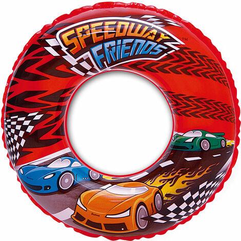 "main image of ""Bestway Speedway Swim Ring - Red 20 Inch"""