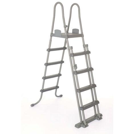 Bestway 4-Step Pool Safety Ladder Flowclear 132 cm 58332