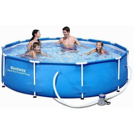 Bestway Steel Pro Frame Pool 305x76cm+Pumpe 56679