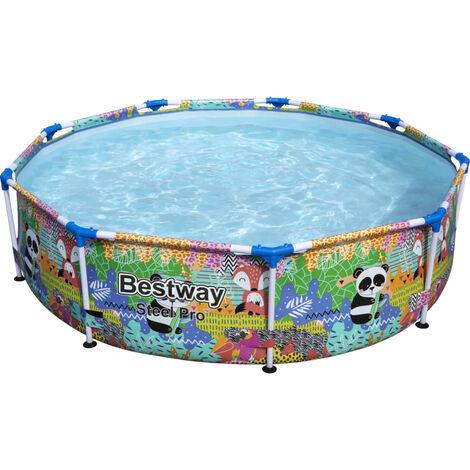 "main image of ""Bestway Steel Pro MAX Swimming Pool 274x66 cm - Multicolour"""