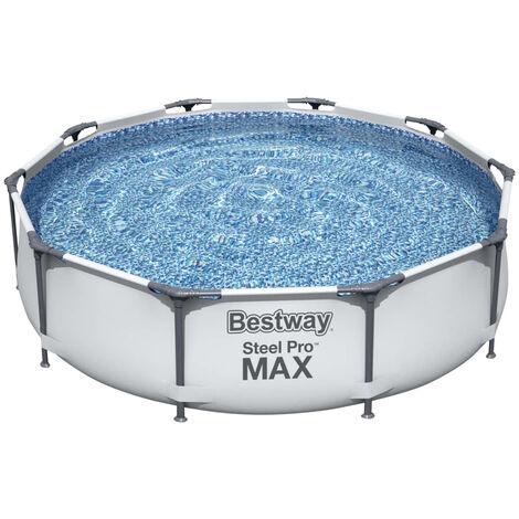 "main image of ""Bestway Steel Pro MAX Swimming Pool Set 305x76 cm - Grey"""