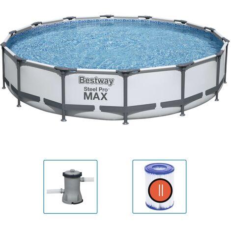 "main image of ""Bestway Steel Pro MAX Swimming Pool Set 427x84 cm"""
