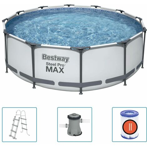 Bestway Steel Pro MAX Swimmingpool-Set 366x100 cm