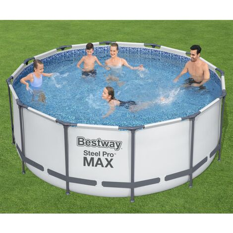 Bestway Steel Pro MAX Swimmingpool-Set Rund 366x122 cm