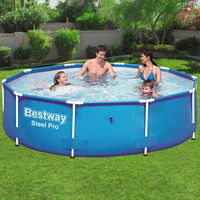 Bestway Steel Pro™ Pool 305x76cm Steel Frame Garden Swimming Pool