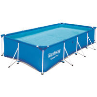 Bestway Steel Pro™ Pool 400x211x81cm Steel Frame Garden Swimming Pool
