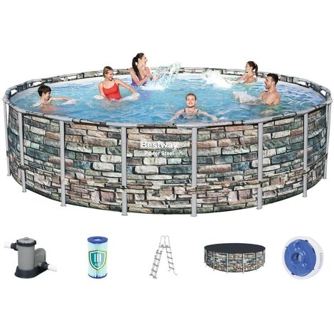Bestway Steel Pro Pool Set 549x132 Multicolor 56886