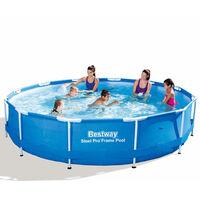 Bestway Steel Pro Round Swimming Pool 366 x 76 cm Steel Frame 56415