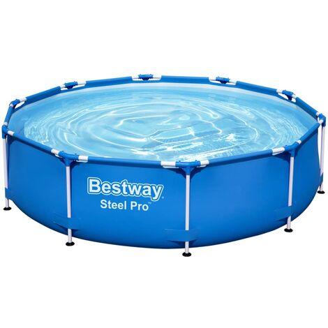 "main image of ""Bestway Steel Pro Swimming Pool 305x76 cm - Blue"""