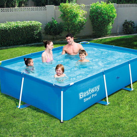 Bestway Steel Pro Swimming Pool with Steel Frame 259x170x61 cm 56403 - Blue