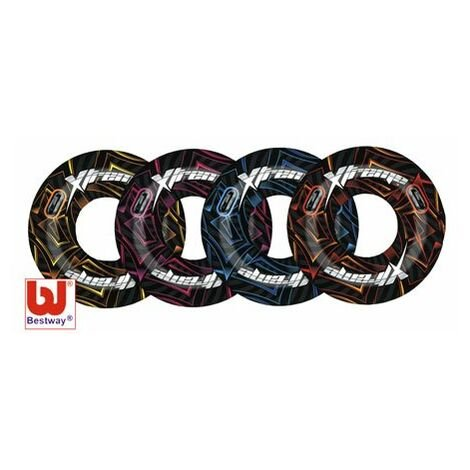 Bestway Surf & Sun Extreme Turbo Tube 42inch Assorted