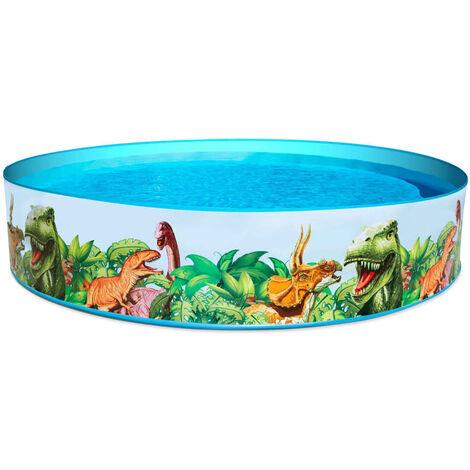 "main image of ""Bestway Swimming Pool Dinosaur Fill'N Fun - Multicolour"""