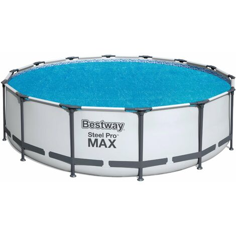 """main image of """"Bestway Flowclear Above Ground Fast Set 14ft Solar Swimming Pool Cover, 1pk"""""""