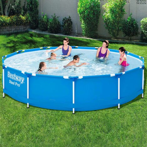 Bestway Swimming Pool Steel Pro Frame 366x76 cm