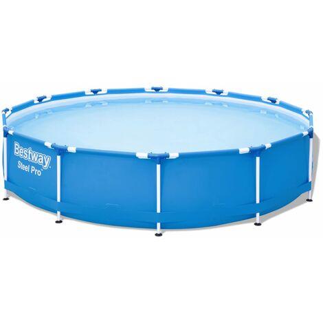 "main image of ""Bestway Swimming Pool Steel Pro Frame 366x76 cm - Blue"""