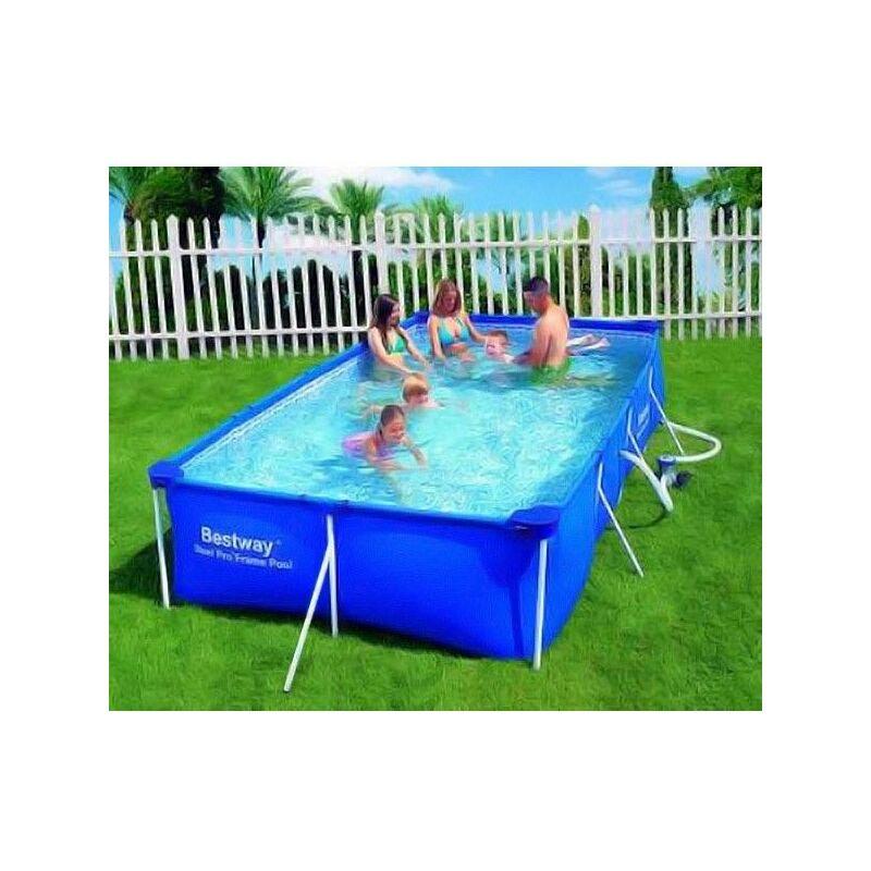 Bestway Swimmingpool Aufstellpool Pool Gartenpool Set 4x2m