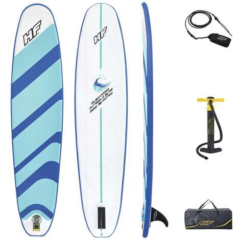Bestway Tabla surf hinchable Hydro-Force 243x57x7 cm - Azul