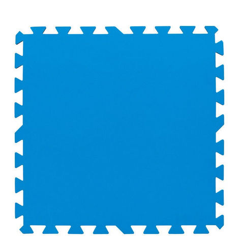 Bestway Tapis bleu 50x50 cm 8 pi