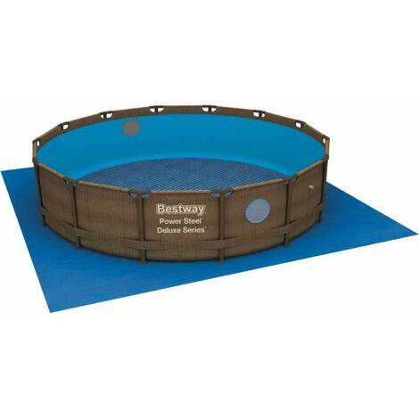 Bestway - Tapis de sol pour piscine ronde diamètre 366 Fast Set ou Steel Frame