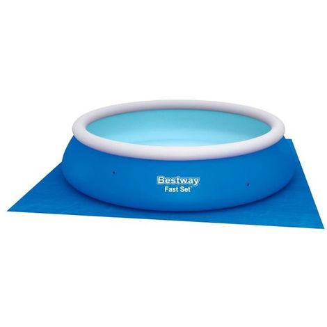 BESTWAY Tapis rond pour piscine Fast Set Pool - Ø 36,6 cm