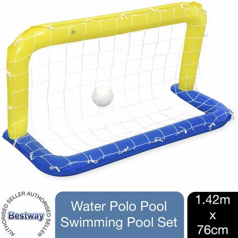 """main image of """"Bestway Water Polo Inflatable Swimming Pool Game Set, 1pk"""""""