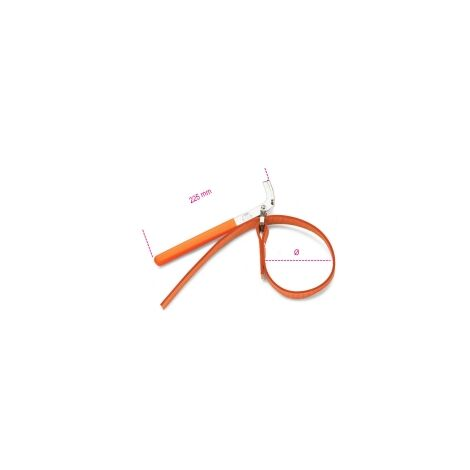 Beta 014900002 1490 /2 240Mm Strap Wrenches For Oil Filters