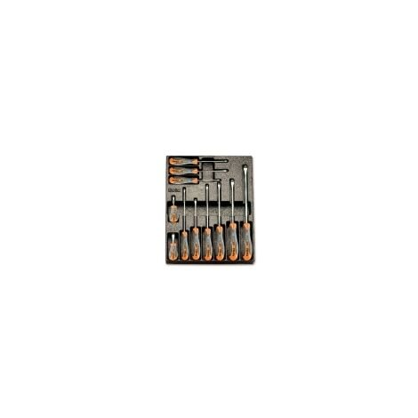 Beta 024240160 2424 T160 11 Tools In Hard Thermoformed Tray