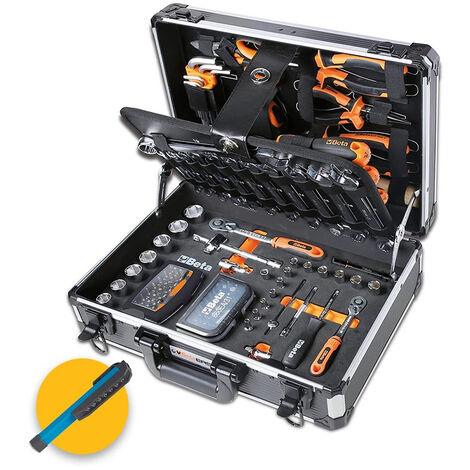 Beta 2054E-128 - Cassetta/Valigia attrezzi completa di 128 utensili