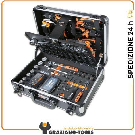 """main image of """"Valigetta porta attrezzi completa di utensili set 128pz. da lavoro per manutenzione generale 2054E/I-128"""""""