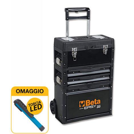 """main image of """"Beta 4300/VIT-20 - Valigia/Trolley portautensili con assortimento di 140 attrezzi con OMAGGIO"""""""