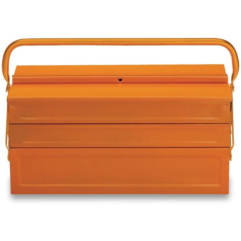 Image of Five-Section Cantilever Toolbox C20L Steel 021200002 - Orange - Beta Tools