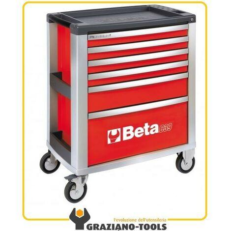 Beta cassettiera mobile con sei cassetti C39 R/6
