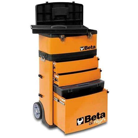 BETA Chariot porte-outils 2 modules superposables - C41H-4100H