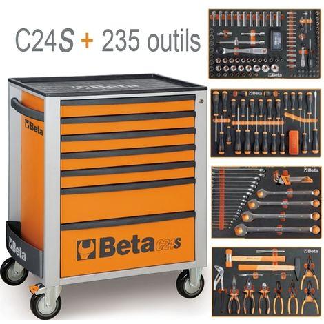 Beta Servante C24s 7 235 Outils 2400 S 7 E M4d Orange