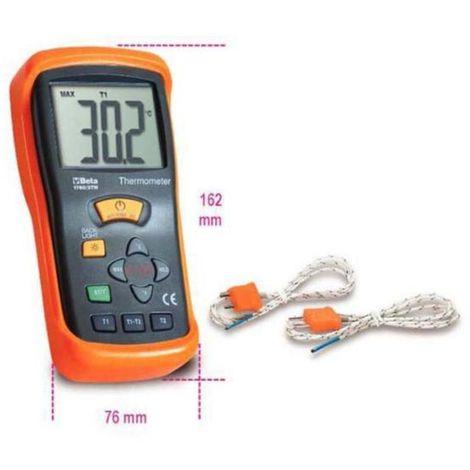 Beta Termometro digitale a due uscite 2 tm