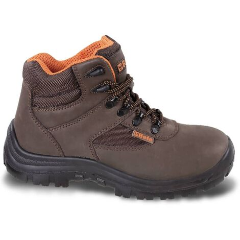 Beta Tools Leather Mens Adult Safety Boots Work Shoes Waterproof Size 8.5-11.5