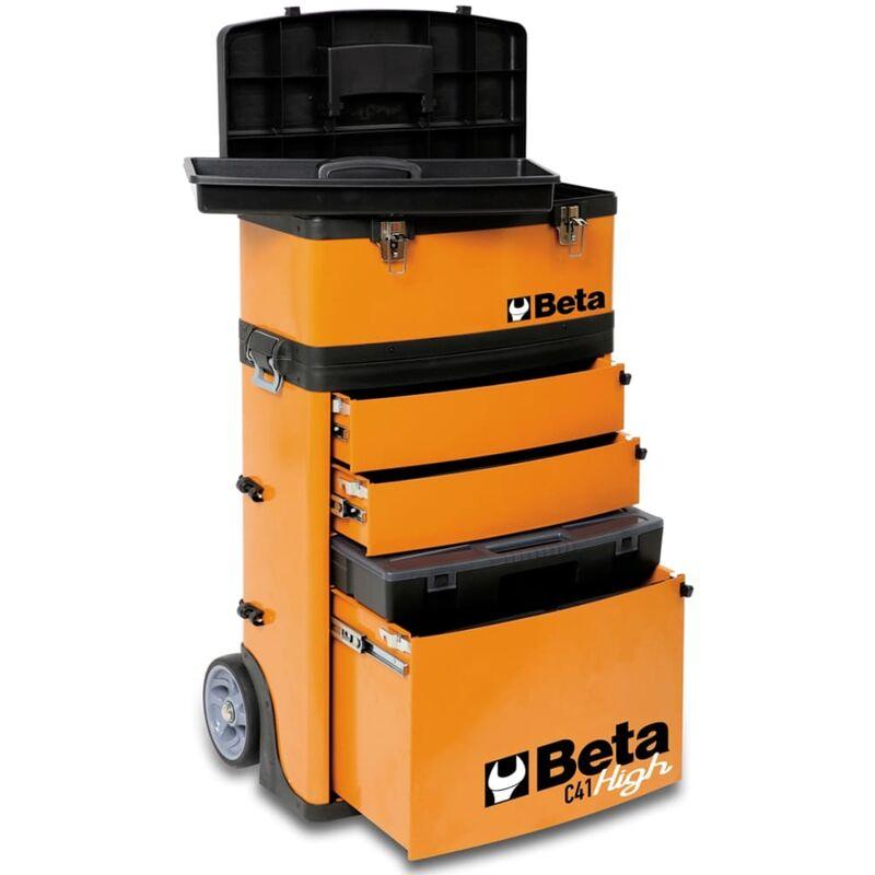 Image of Beta Tools Rolling Tool Box C41H/O Orange 041000002 - Orange